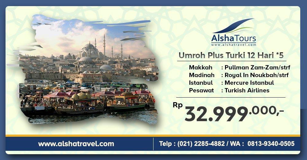 Umroh Plus Turki 2021 Jakarta